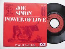 JOE SIMON Power of love 2066268 Pressage  FRANCE   RRR