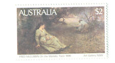 Australia-On the Wallabey track mnh single Art-Paintings
