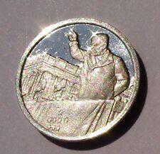 Franklin Mint Sterling Silver Mini-Ingot: 1905 Theodore Roosevelt Inauguration