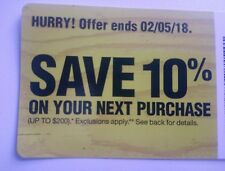 Home Depot 10% OFF Coupon