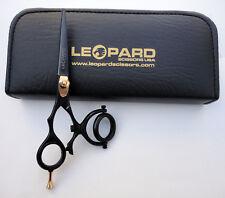 "Double Swivel Thumb Shears Left Hand Hair Cutting Barber Salon Scissors 6"" lefty"