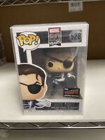 FUNKO POP MARVEL 80 YEARS FIRST NICK FURY NYCC 2019 EXCLUSIVE STICKER IN HAND