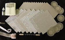 Stampin' Up TIP TOP TAUPE In-Color Pack-Cardstock, Ink, Refill, Marker, DSP++