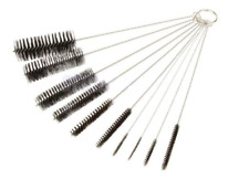 Pfeifenreiniger Reiniger Bürsten Set 10 Größen Werkzeug Pfeife Nylon Hookah NEU