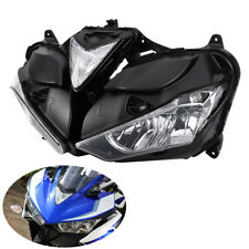 Front Headlight Head Lamp Assembly Clear Lens For Yamaha R25 R3 2013-2016 2015