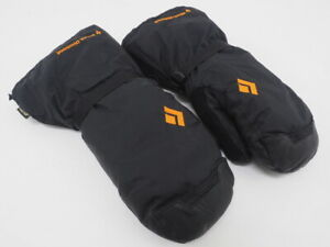 Black Diamond Absolute Waterproof Mittens With Liners Size Small (Black/Orange)
