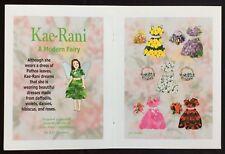 Kae-Rani & her Flower Dresses Paper Doll by J.L. Drennan, Mag. Pd.