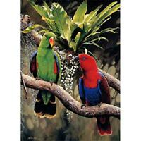Parrots 5D DIY Full Drill Diamond Painting Embroidery Cross Stitch Kits Decor