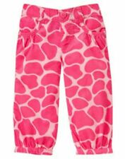 "Nwt Gymboree Baby Girls ""Loveable Giraffe"" Pink Giraffe Print Corduroy Size 3-6M"
