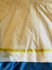 """New listing Ralph Lauren King Size Bed Skirt / Bed Ruffle / Bed Duster 15"""" Drop"""