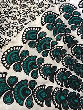 Flower MANDALA Turquoise/White - SARONG DRESS - Elastic Back/Cover Up/Swimwear
