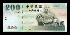 B-D-M Taiwan 200 Yuan 2001 Pick 1992 SC UNC