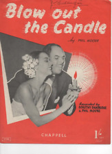 Blow Out The Candle - Sheet music and lyrics