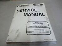 Good Condition Mercury Service Manual 1996 Sport Jet