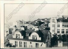 1937 Khabarovsk Russia Aerial View of City on Amur & Ussuri Rivers Press Photo