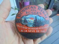Ancienne Boite Tôle des Bonbons Regal des Vosges à la Sève de Pin La Vosgienne