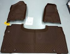 2019 2020 Dodge Ram 1500 DT All Weather Mat Kit Brown Crew Cab  Mopar  OEM