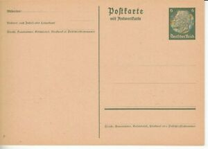 Deutsches Reich Ganzsache P 229 I  **