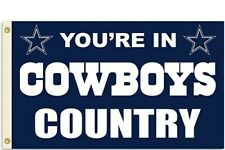 Dallas Cowboys NFL Flag 3' x 5' - Perfect For Garage, Man Cave, Shed, Bedroom