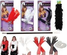 Deluxe Ladies Girls Flapper 20'S Theme Charleston Women Fancy Dress Accessories