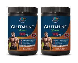 Protein Nitro Gastrointestinal Health - GLUTAMINE POWDER 5000mg - Whey  2 Cans