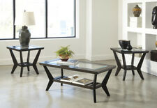 Ashley Furniture Occasional Table Set (3/CN) Lanquist Brown T401-13 Table NEW