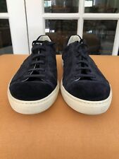 Tod's men's 9.5 suede shoes new made in Italy