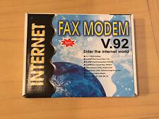 More details for 56k pci v.92 dial-up modem