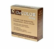 Decolor Time Hair Colour Remover- Means for Removes Permanent Color of Dyed Hair