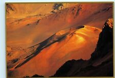 Haleakala Crater Volcanoe Maui Hawaii Cinder Cone 4x6 Postcard A41