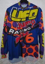 MAGLIA SHIRT JERSEY MOTOCICLISMO MOTOR CYCLE MOTOCROSS ENDURO UFO JUMP CROSS