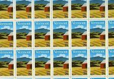 # 2533 Vermont Statehood full mint sheet of 50 Mint Nh Og