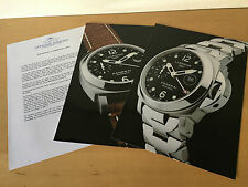 Press Kit PANERAI Luminor GMT 40mm - Picture + Details - Watch NOT Included
