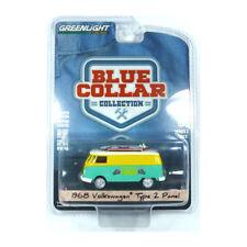 Greenlight 35080 VOLKSWAGEN TYPE2 PANEL Gr / gelb-blue Collar Colección 1:64