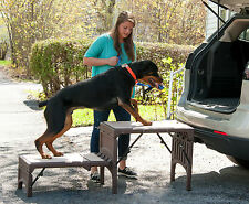 Pet Gear NEW Free Standing Foldable Step Dog / Cat Ramp PG9960FS 350lbs Capacity