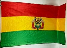 Bolivia National Crest Country Flag 3' X 5'