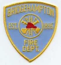BRIDGEHAMPTON NEW YORK NY FIRE PATCH