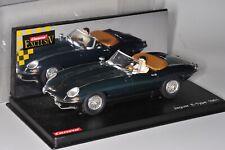 37349 SLOT CAR Carrera Exculsiv 124 Jaguar E-Type 1961 OK