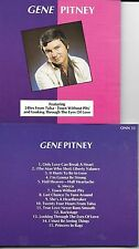 CD 15 TITRES GENE PITNEY BEST OF MADE BY CD PLANT SWEDEN TBE