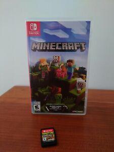Minecraft: (Nintendo Switch, 2017)
