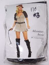 Size XS Women's Indiana Jones Outfit Cosplay Halloween Costume Theater