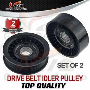 Drive Belt Idler Pulley Set for Holden Commodore VS VT VU VX VY Calais Crewman