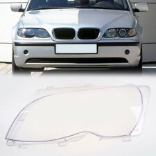 1x Passenger Side Fit BMW E46 2001-2006 4DR LCI Headlight Lens Cover Replacement