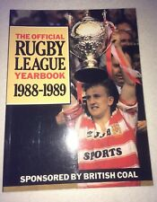 More details for british coal rugby league yearbook - 1988-1989