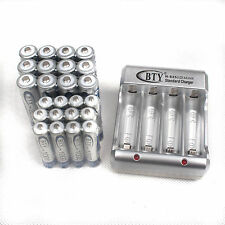 12pcs AA 2500mAh+12 AAA 1000mAh 1.2V NI-MH rechargeable battery With BTY Charger