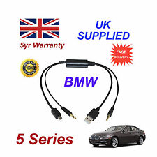 BMW Serie 5 Audio Cable para Samsung Galaxy, HTC, BlackBerry, LG, Nokia Sony
