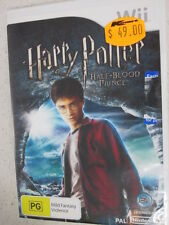 harry potter half blood prince wii