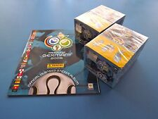 PANINI WM 06 Germany 2006 - 2 OVP Displays + Album Top/Neu