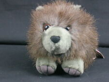 """New Puffkins Collection Spike Shaggy Porcupine Plush Stuffed Animal Toy 6"""""""