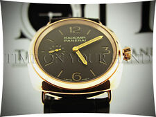 PANERAI PAM 439 RADIOMIR 18K ROSE GOLD BROWN TOBACCO DIAL 42MM PAM439 BNIB